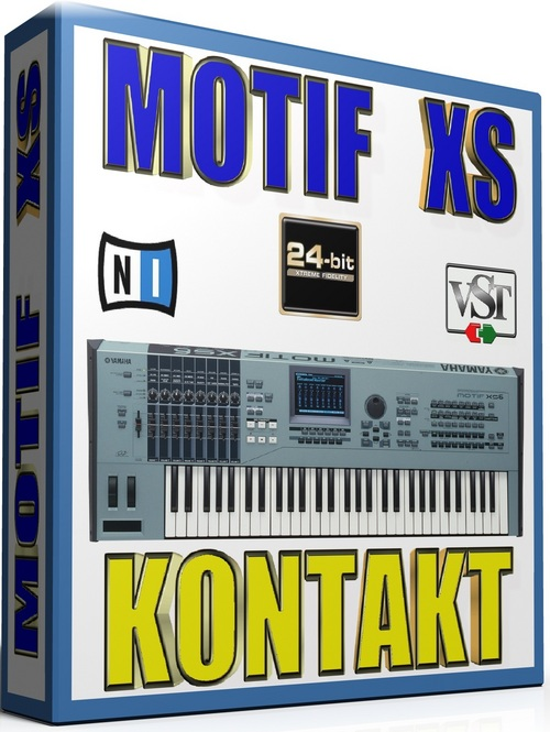 Product picture YAMAHA MOTIFS XS SAMPLES KONTAKT NATIVE INSTRUMENTS 24BIT