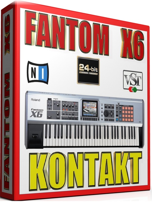 Product picture FANTOM X6 SAMPLES KONTAKT NATIVE INSTRUMENTS 57GB *24-BIT*