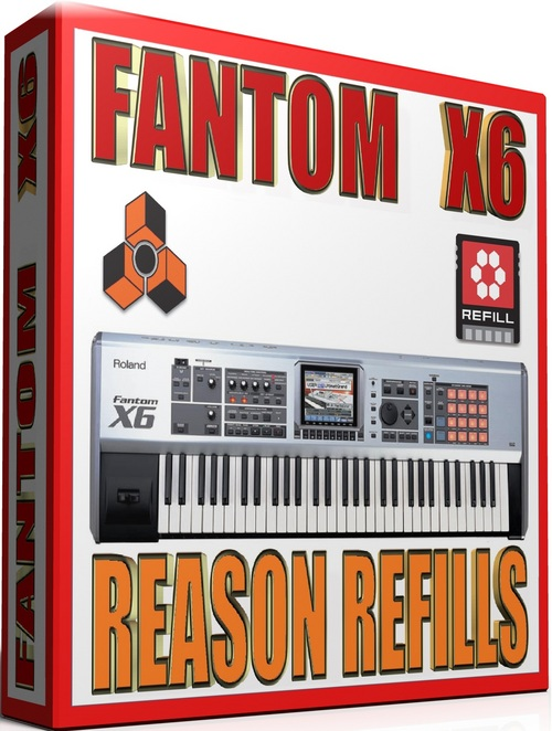 Product picture ROLAND FANTOM X6 REASON REFILLS
